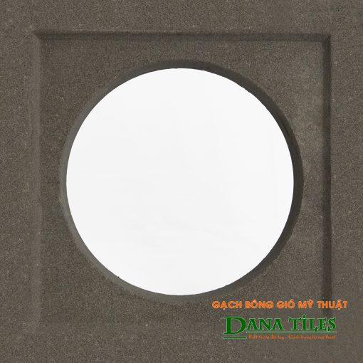 Gạch bông gió xi măng Danatiles D-06 màu đen